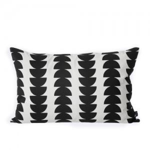 Kussen in zwart/wit patroon
