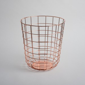 Wire bin copper - Menu