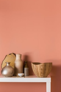 een copper blush interieur