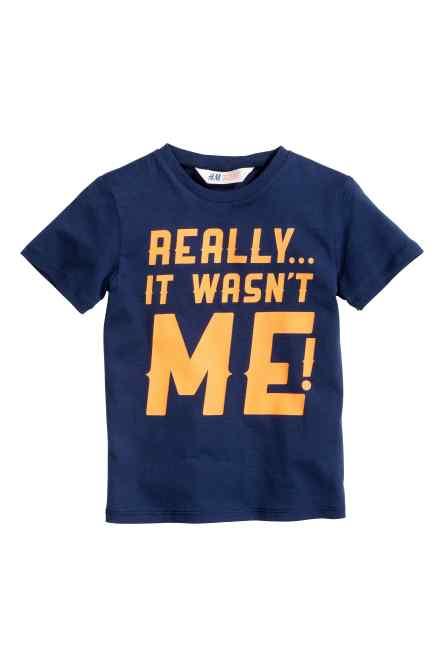 Zeggen ze altijd. T shirt 4,99€